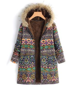 Thick Fleece Boho Warm Fur Overcoat Jackets