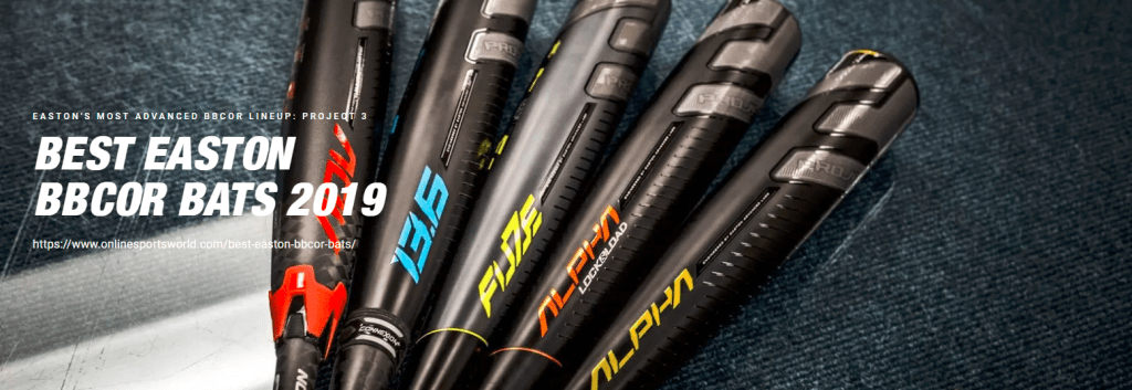 best easton bbcor bats 2019