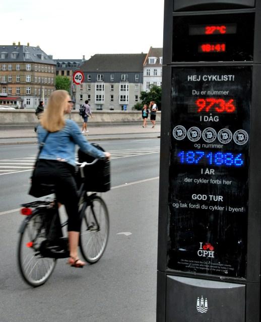 Cycle Counter in Copenhagen
