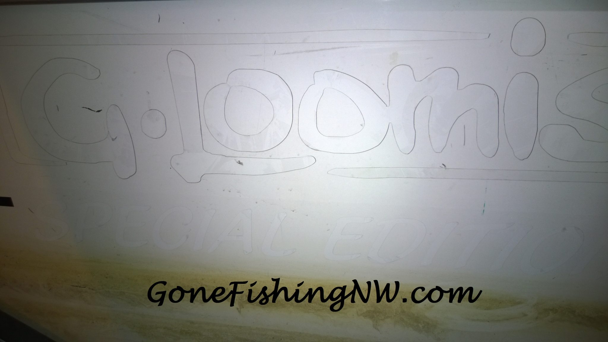 Removing Vinyl Boat Stickers Gone Fishing NW - Custom boat decals   easy removal