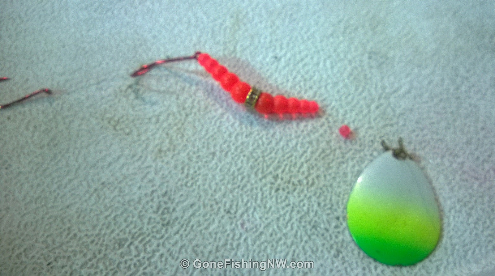 How To Make A Wedding Ring Fishing Lure