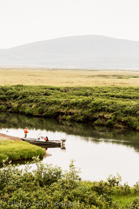 Fishing outside Nome