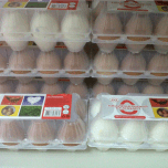 Hoping the heart suggests these are free range EGGS?!