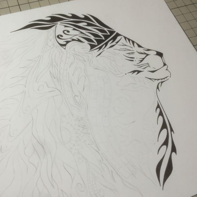 ライオン LION ロゴデザイン