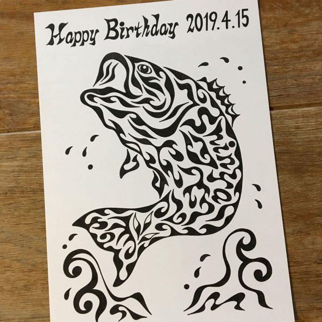 ブラックバス,釣好き,誕生日