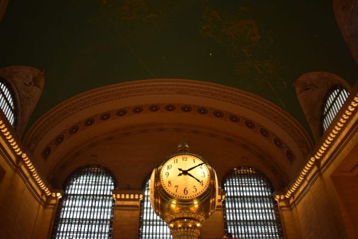 Clock at Grand Central Station New York City
