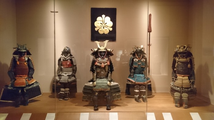 Samurai armor in the Met