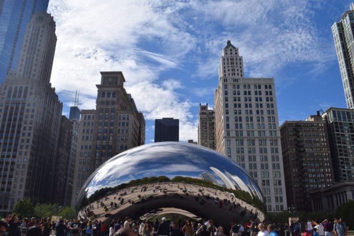 Cloud Sculpture a.k.a. Big Bean, Chicago