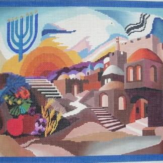 Pray for the Peace of Jerusalem Tefillin