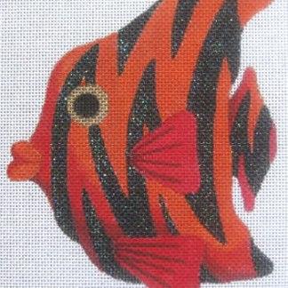 Red/Black Striped Fish