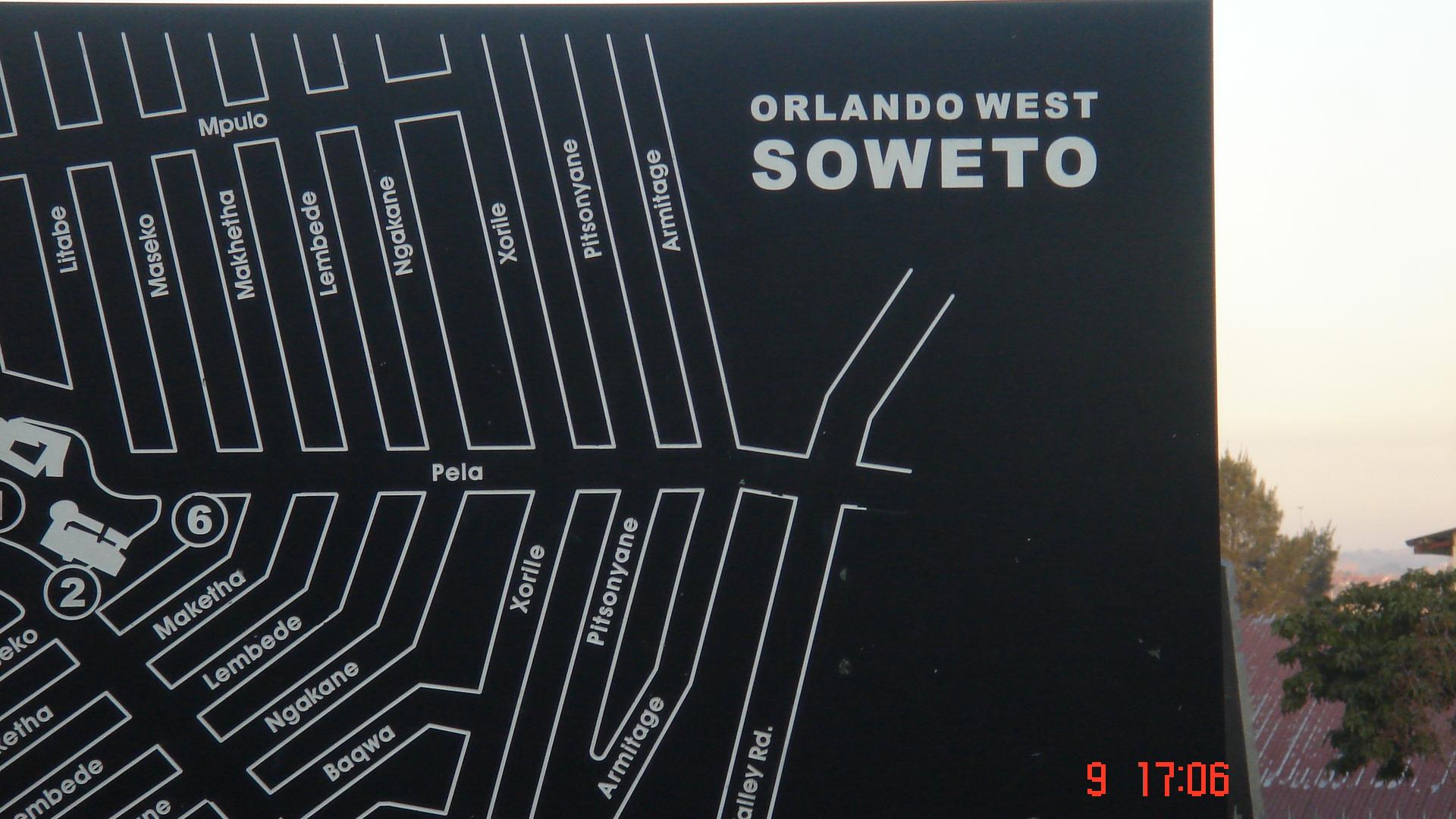 Soweto map