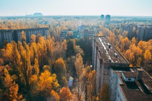 Pripyat, abandoned city in Ukraine