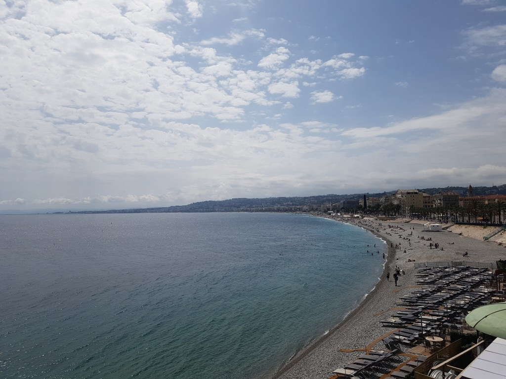 The plage, Nice - French Riviera