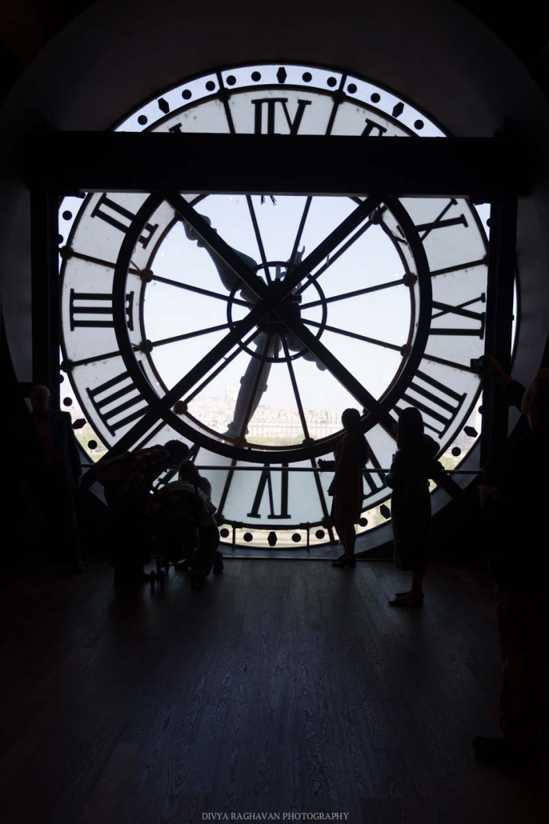 Clock at Musée D'orsay, Paris, France || Paris in two days, a complete guide and itinerary to the city of lights in France.
