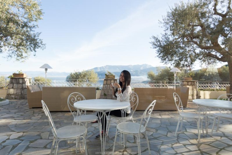 Terrace at Hotel Aminta, Sorrento, Italy