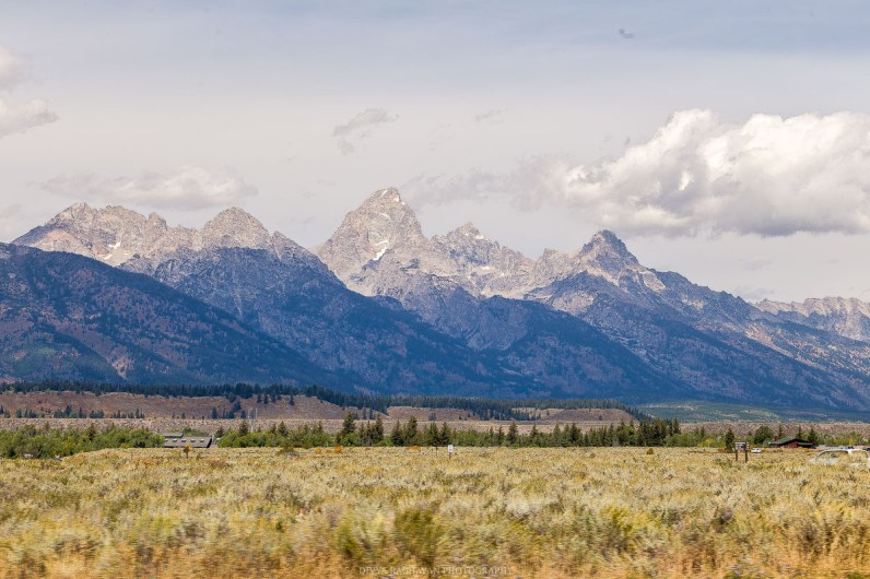 The majestic Grand Tetons