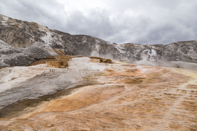 Mammoth hot springs, Yellowstone National Spring