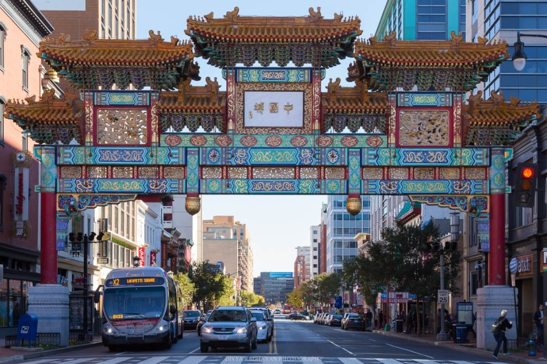 The entrance to Chinatown, DC