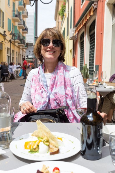 Trattoria A Modo Mio // // A day trip to the medieval town of Ventimiglia, Italy from Nice, France // gonewithawhim.com