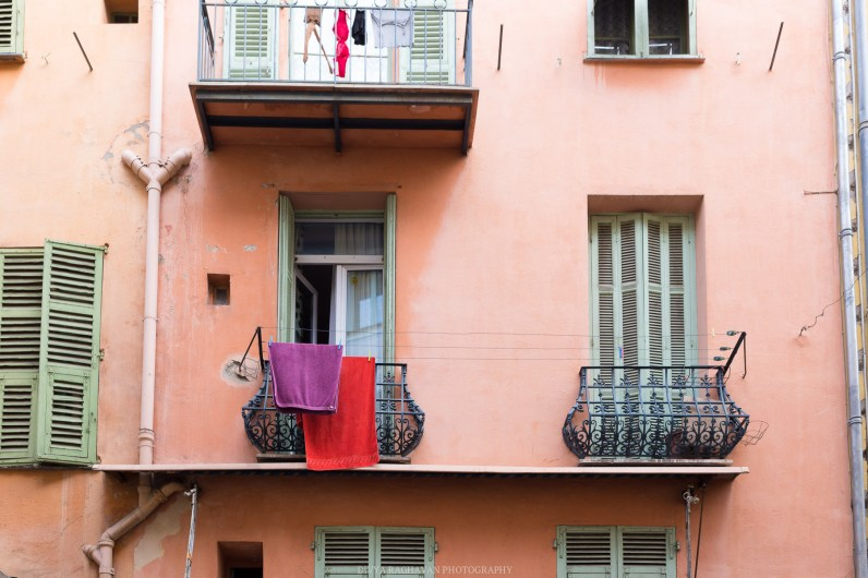 Early mornings in the old town of Nice    Travel to Cote D'azure, South of France