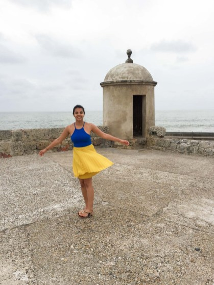 The fortified walls of Cartagena, Colombia, South America -- Photos to inspire you to visit Cartagena -- Gone With a Whim