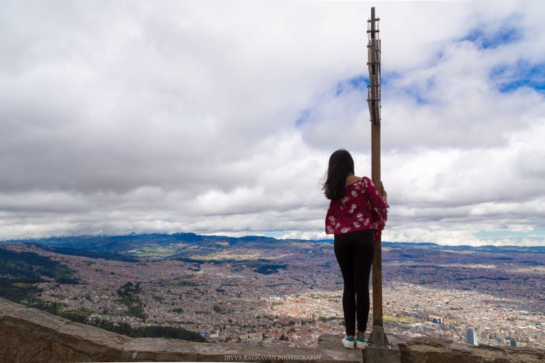 Top of Monserrate, Bogota, Colombia
