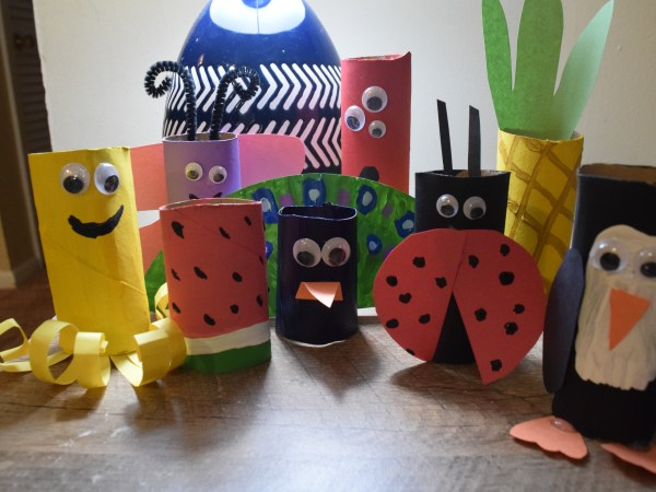 15+ Delightful Toilet Paper Roll Crafts For Kids
