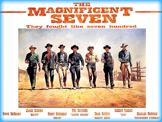 The Magnificent Seven (1960) - Movie Review / Film Essay