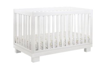 ​Non-Toxic Crib Babyletto Hudson 3-in-1 Convertible Crib with Toddler Rail