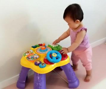 Baby Developmental MilestonesCruising & Standing