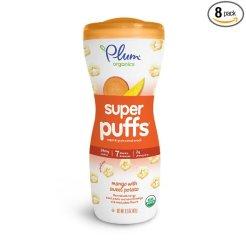 organic baby snacks plum super puffs