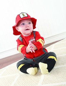 Firefighter Baby Halloween Costume
