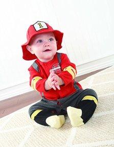 Firefighter Baby Halloween Costume