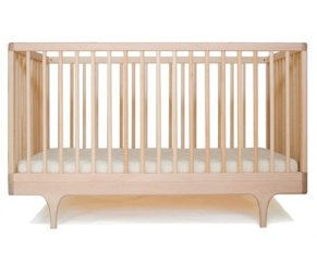 Non Toxic Crib - Kalon Studios Caravan Crib In Raw