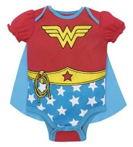 Wonder Woman Baby Halloween Costume