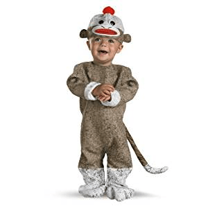Sock Monkey Halloween Costume For A toddler