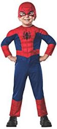 Spider Man Halloween Costume For A Toddler