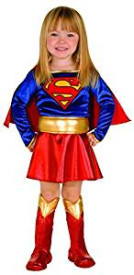 Super Gril Halloween Costume for a Toddler