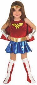 Wonder Woman Halloween Costume for a Toddler