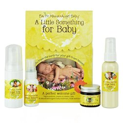 Non-Toxic Holiday Gift - Earth Mama A Little Something For Baby Gift Set