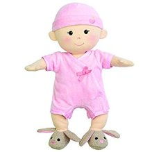 Non-Toxic Holiday Gift Ideas - Apple Park Organic Plush Baby Girl