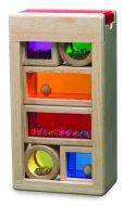 Non-Toxic Holiday Gift Ideas - Wonderworld Rainbow Sound Blocks Stackable Hollow Shape Block Toys