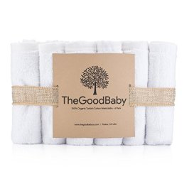 Non-Toxic Holiday Gift - The Good Baby Organic Cotton Baby Washcloths