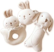 Non-Toxic Toys - John N Tree Organic Cotton Baby First Toy