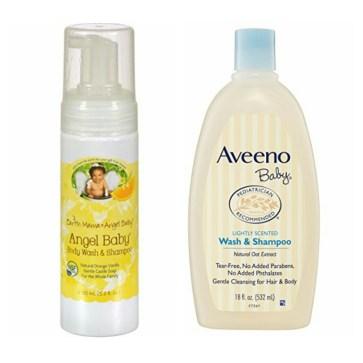 Baby Shampoo And Body Wash Comparison