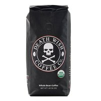 Non-Toxic Holiday Gift For Dad - Death Wish Organic USDA Certified Whole Bean Coffee