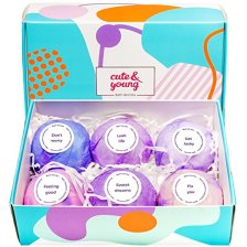 Non-Toxic Holiday Gift For Mom - Children's Fragrance Organic Bath Bomb Gift Set