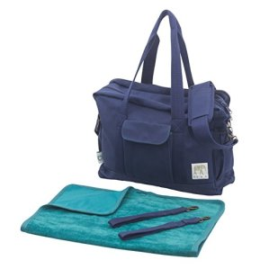 Non-Toxic Holiday Gift For Mom - Dera Design Organic Canvas Diaper Bag