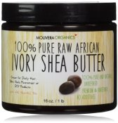 Non-Toxic Holiday Gift For Mom - Molivera Organics Raw African Ivory Shea Butter