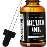 Non-Toxic Holiday Gift - Leven Rose Spiced Sandalwood Beard Oil And Leave In Conditioner